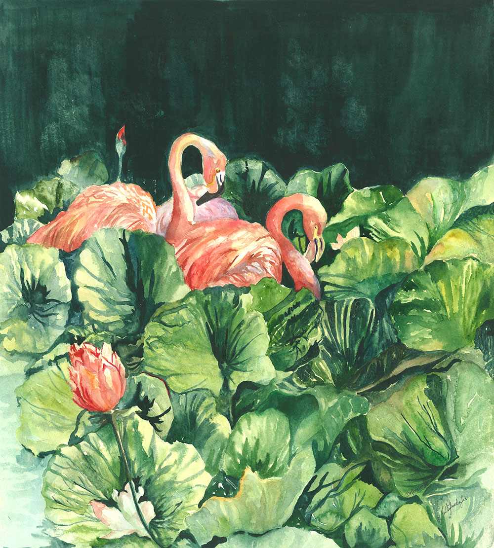 Flamingoes-Waltz